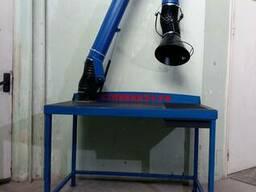 Стол сварщика Кулибин с поворотно-вытяжным устройством ПВУ