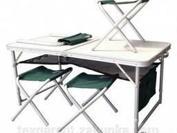Стол TA 21407 FS21124 (табуретки без бренда). В подарок чехо