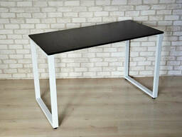 Стол Тавол КС 8. 1 металл опоры белые 100смх60смх75см ДСП. ..