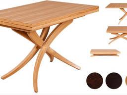 Стол – трансформер. 3 в 1. Дуб натуральный. Хит продаж