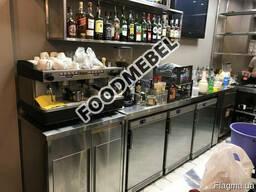 Стол-тумба под кофемашину для кофейни бара кафе
