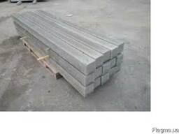 Столб бетонний, столб ограждения 80х80мм, 2,0м, купить, цена