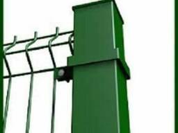 Столб для крепления сетки Зеленый 60х40, 2м