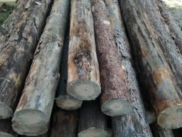 Столб подтоварник столбики для забора Сосна 2, 5 метра доставка