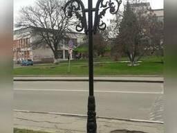Столб «Виноград» на 2 светильника