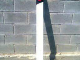 Пластиковый дорожный сигнальный гибкий столбик