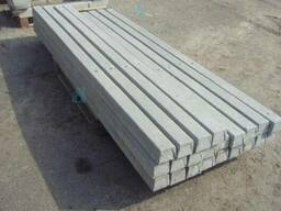 Столбы бетонные - армированные 10х10мм под рабицу