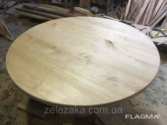Столешница деревянная круглая Сосна 20мм