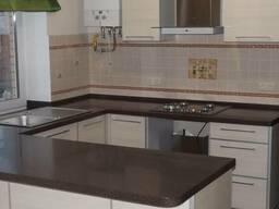 Столешница из гранита и мрамора на кухню мебель кухонная - фото 5