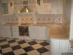 Столешница из гранита и мрамора на кухню мебель кухонная