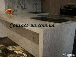 Столешницы для кухни и ванной из гранита Fantasy White