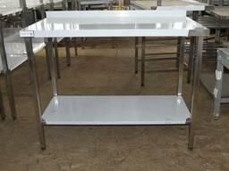 Столи для харчового виробництва, столи виробничі з нержавію