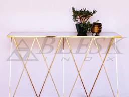 """Столик консоль """"GoldenWave"""" для прихожей ванной кухни. . ."""