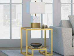 Столик с стеклянной столешницей