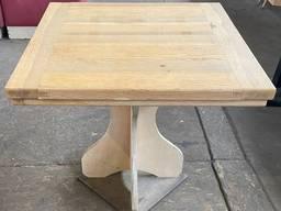 Столы б/у столешница деревянная, нога фанера