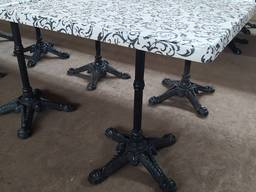 Столы бу для кафе 700*700*720
