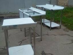 Столы и мойки с нержавейки в наличии и под заказ