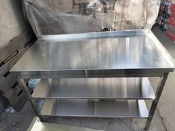 Столы, мойки, полки из нержавейки нержавеющей стали - photo 4