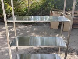 Столы, мойки, полки из нержавейки нержавеющей стали - photo 8