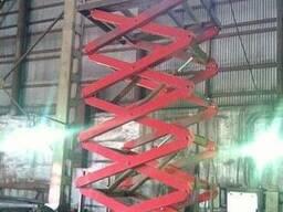 Столы ножничные, Подъемные платформы