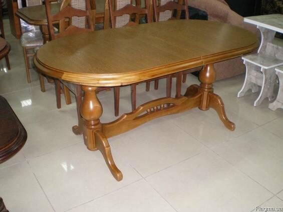 Изготовление столов из натурального дер