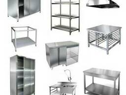 Столы, Шкафы, Стеллажи, Вытяжки из нержавейки - На заказ