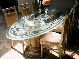 Столы со стеклянной столешницей