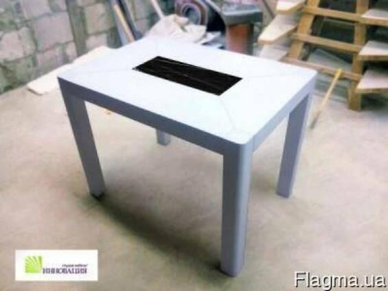 Столы, столешницы, скамейки из искусственного (акрилового) кам