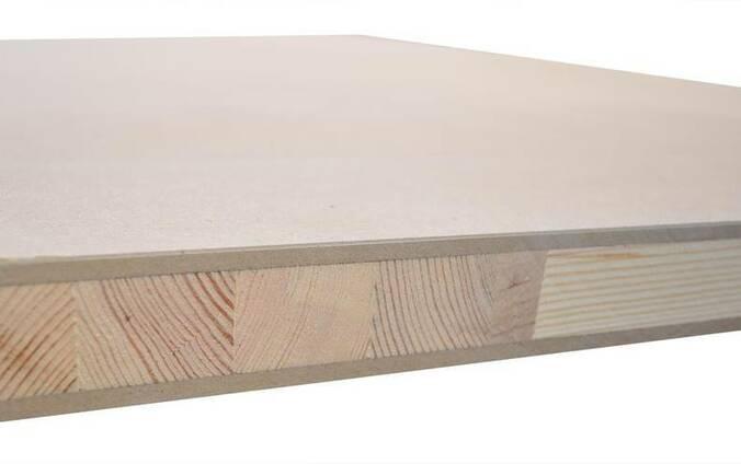 Дверная заготовка 39 мм , трех-слойная Solid HDF
