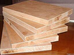 Столярная плита (чистая) 2500х1250 мм.