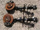 Стойка амортизатор цапфа ступица Fiat 500 07-14 - фото 2