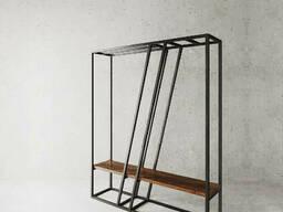 Стойка для одежды в стиле LOFT (Hanger - 77)
