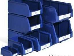 Стойка односторонняя и пластиковые лотки Logic Store