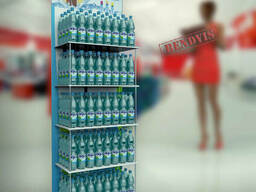 Стойки рекламные для воды