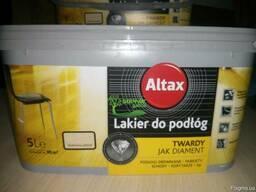 Стойкий лак для паркета Altax Альтакс 2.5л