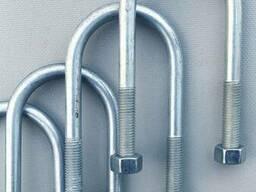 Стремянка рессоры AL-KO круглая ось 50 мм (длина - 14 см толщина - 12 мм)