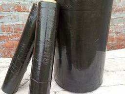 Стрейч пленка 40кг черная джамбо-рулон 20мкм*500мм