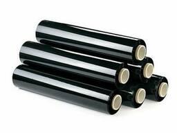 Стрейч пленка черная 20мк 135 грн 1, 5 кг