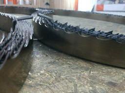 Стрічкове пильне полотно на пилораму Wood-Mizer SilverTip 50*1.07*22 гартована. ..