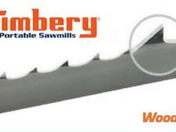 Стрічкове пильне полотно на пилораму Wood-Mizer Timbery Raptor 40*1.0*22 гартована. ..