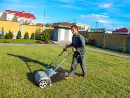 Садовник, Весенняя обработка сада, Ремонт газона, Стрижка