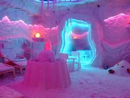Строим соляные комнаты , соляные пещеры