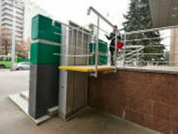 Подъемник для инвалидов, другие грузовые подъемники от. ..