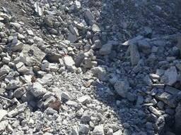 Строительные отходы бетонные нефракционные