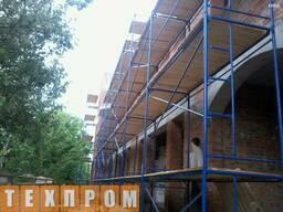 Строительные рамные леса комплектация 6 х 6 (м)