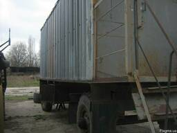 Строительные вагончики на колесной базе 2. 40Х6. 00