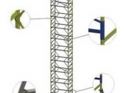 Строительные вышки туры передвижные 0,75Х1,6 м
