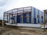 Строительство ангара, склада металического под производство - фото 1