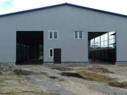 Строительство ангаров навесов производственных цехов гаражей