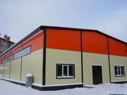 Строительство Ангаров, зернохранилищь, СТО
